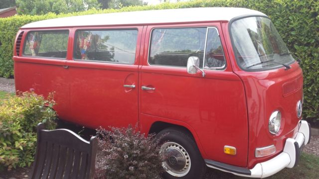 VW Type 2 micro bus 1970 LHD, conversion to Camper Van, Day Van