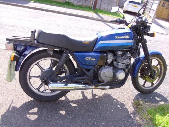 Motor Bike Kawasaki GT550