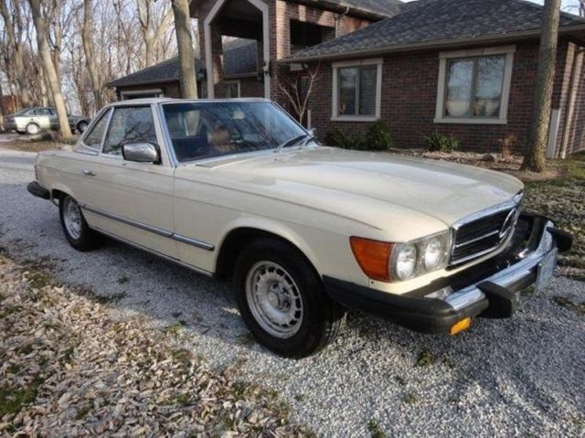 1978 Mercedes-Benz 400-Series 450SL Numbers Matching