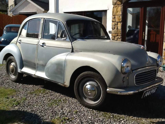 Morris Minor 1000. 1958. Cherished Number. Phoenix