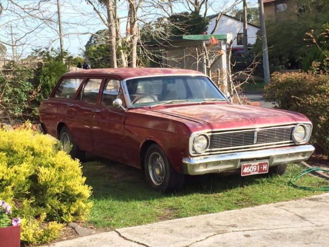 1968 Ford Falcon station wagon