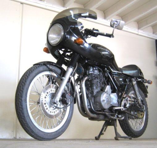 Honda Cafe Racer - GB400TT mkII. Not an SR400 or SR500