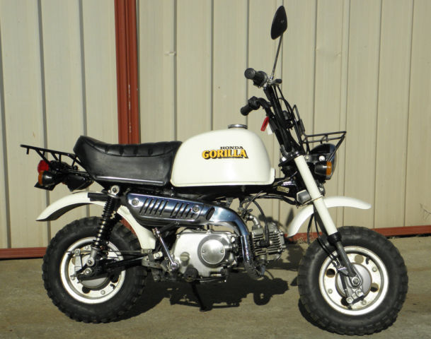 honda z50 j gorilla 1979 legendary 50cc monkey bike only. Black Bedroom Furniture Sets. Home Design Ideas