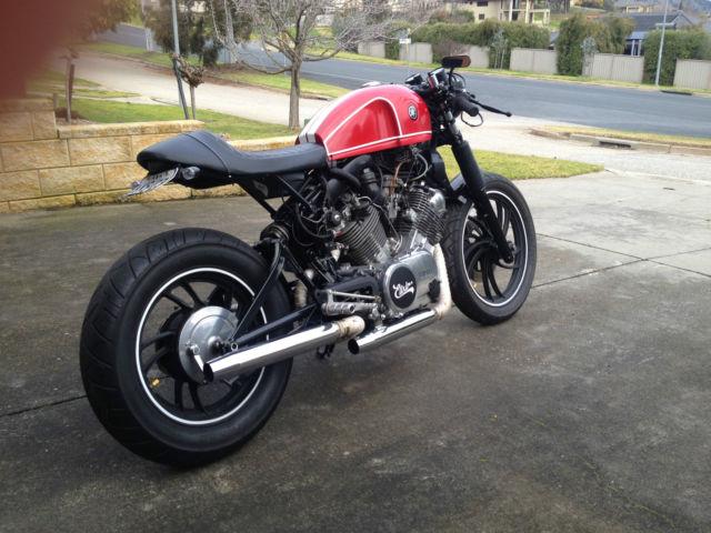 Yamaha xv750 81' Cafe Racer, custom, classic, bobber, motorcycle