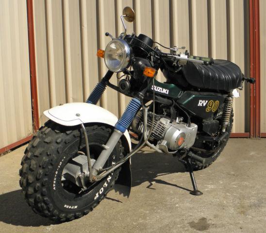 suzuki rv90 1971 sand bike done only 6333 klms goes well very