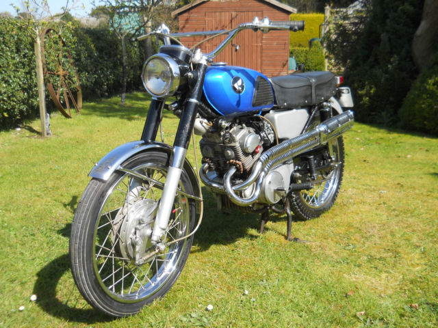 HONDA CL160 B160 SCRAMBLER 1967ELECTRIC START VINTAGE EXTREMELY RARE 5000 MILES