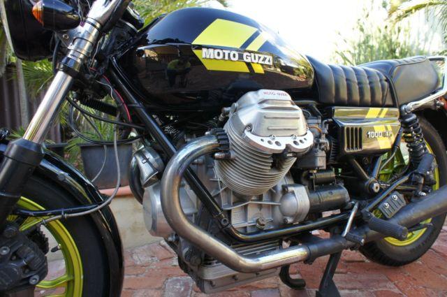 1978 Moto Guzzi SP1000