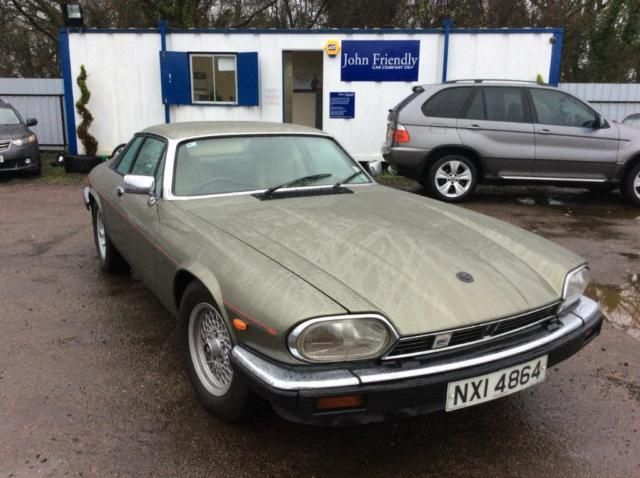 Jaguar XJS. 2 Owners From New. Last Owner Since 1989.