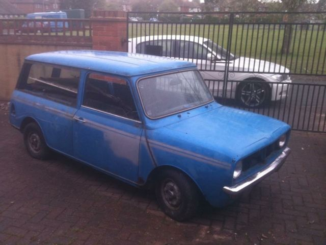 1980 Austin Morris Mini Clubman Estate Auto Blue For Restoration