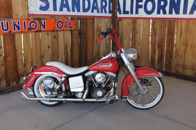 1983 HARELY DAVIDSON FLH SHOVELHEAD FACTORY REAR BELT DRIVE