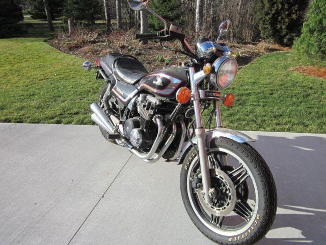 1982 Honda Nighthawk CB650SC