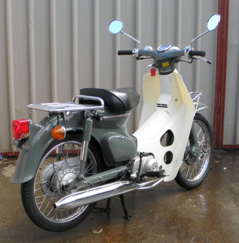 honda c50 super cub deluxe 1986 very original and clean only done 10 154 klms for sale. Black Bedroom Furniture Sets. Home Design Ideas