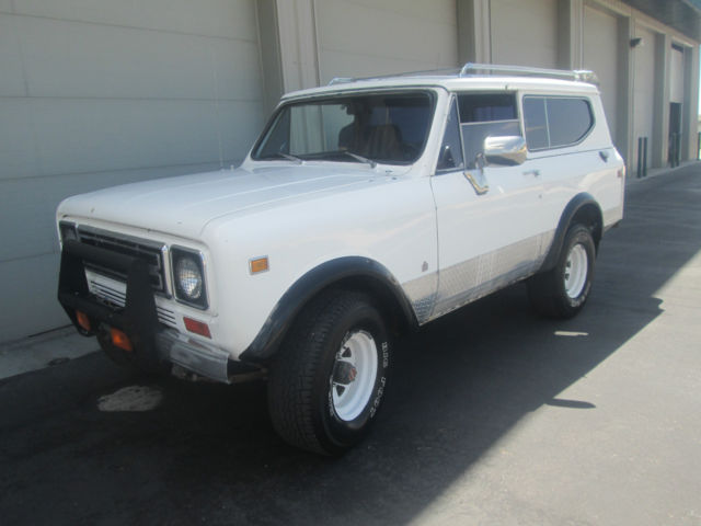 1978 international scout II fuel injection project driver