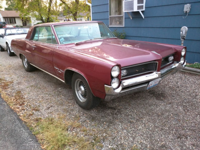 1964 Pontiac Grand Prix 421 4-speed tri-power & 389 & LOTS of spare parts