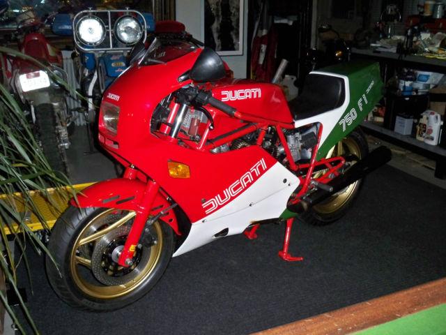 1985 Ducati 750 F1 A