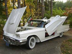 1960 Ford Thunderbird Custom Coupe 2 Door Hardtop