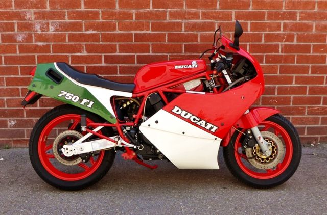 Ducati F1 1988 Vintage Ducati One Owner 3,972 miles Last year F1-750 Desmo
