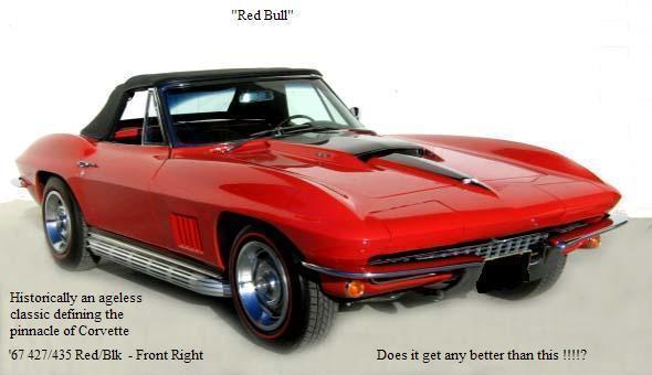 1967 Corvette Stingray 427/435 Tricarb - Original Big Block Red/Black Leather