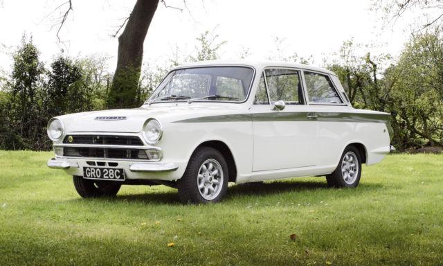 1965 Lotus Cortina Mk.I with Comp History