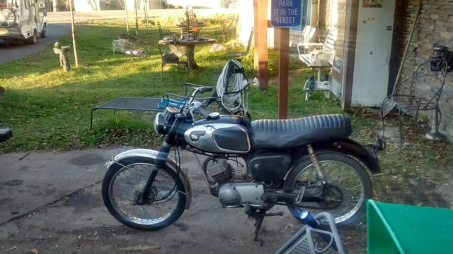 1970 Kawasaki 80cc 11,527 Actual miles Been Inside Storage