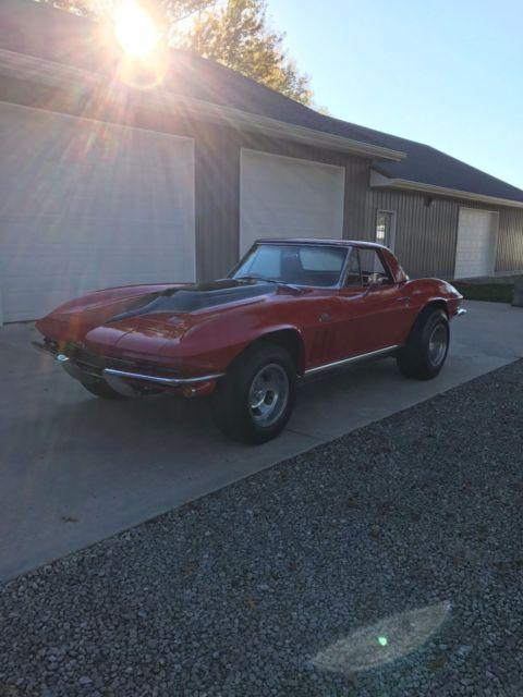1966 427 corvette conv