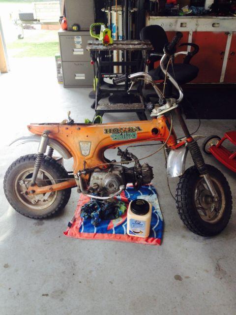 Honda trail 70
