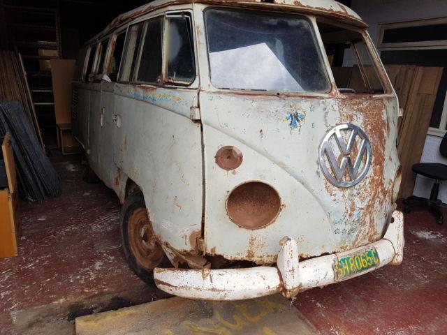 VW Splitscreen 11 window cargo doors , 1966