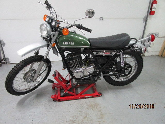 Yamaha DT360 fully restored