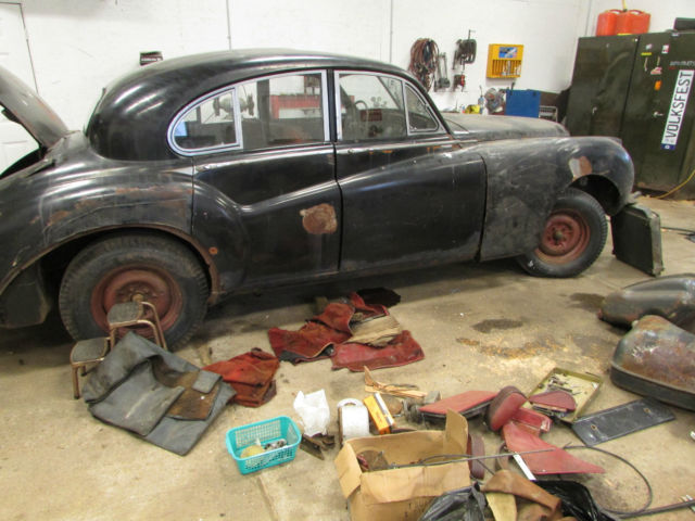 1956 JAGUAR MK7 M, 4 SPEED MANUAL FOR RESTORATION OR PARTS