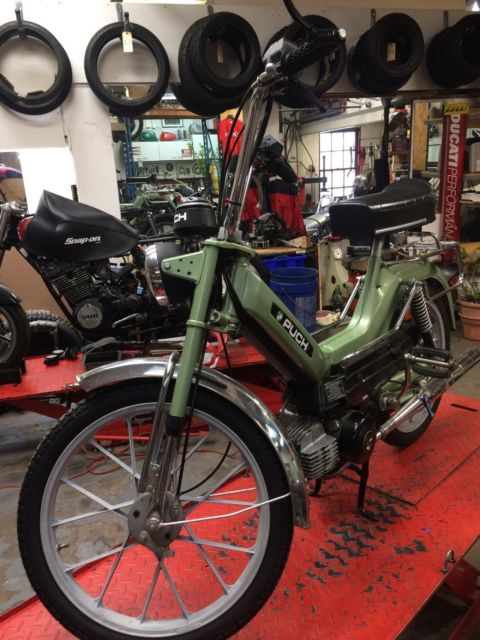 Puch moped Sport MKII 1978 2 speed Maxi one owner