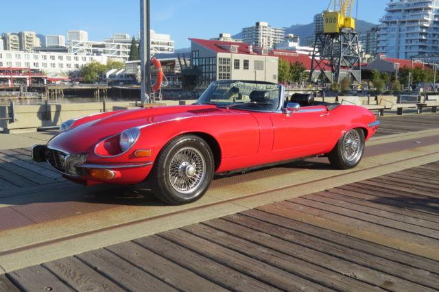 1973 Jaguar XKE V12 5.3L e-Type