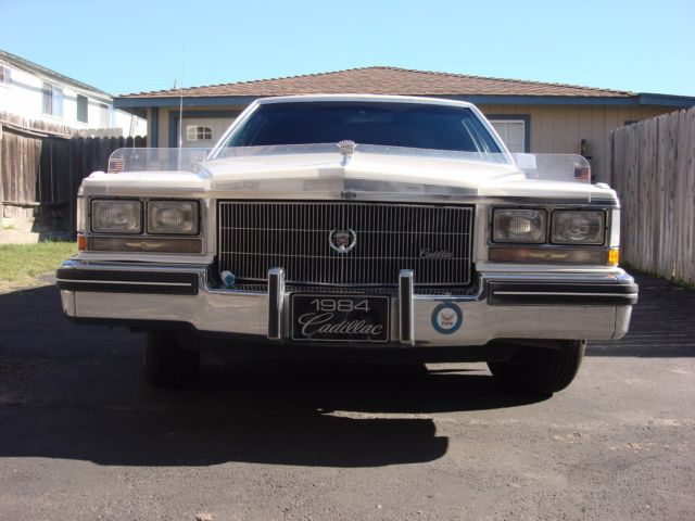 1984 Cadillac Sedan Deville Stretch limo 62k original miles