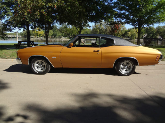 1972 Chevrolet Chevelle Malibu 402 Super Sport Numbers Matching Frame Off Resto