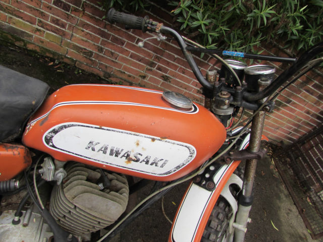 1970 KAWASAKI F5 BIG HORN 350 PROJECT BIKE CLASSIC VINTAGE