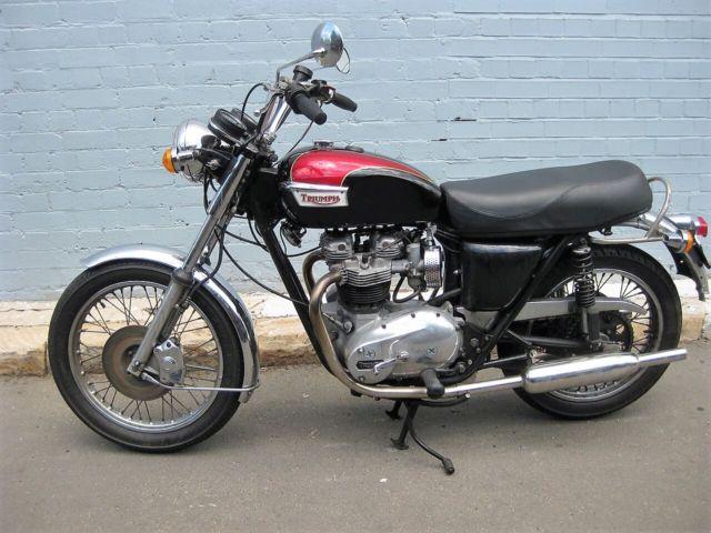 Triumph Bonneville 1978 750cc OIF