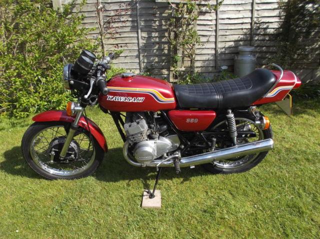 Kawasaki S2 , Kawasaki triple S2 350, 1972 Kawasaki S2