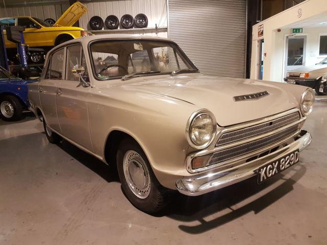 1966 FORD CORTINA MK1 1500 AUTOMATIC - BEIGE - 56000 MILES - UK CAR