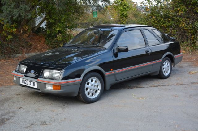 1983 FORD SIERRA XR4 i BLACK 2.8 V6 98k MILES VERY GOOD CONDITION MUST SEE