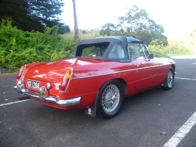 1968 MG B MK11 MGB For Sale mount gambier, South Australia