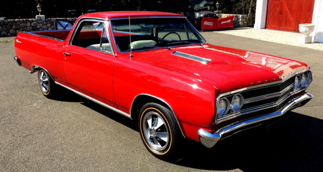 1965 Chevrolet El Camino Deluxe 327 V-8/4spd. Factory Air Power Steering & Brake