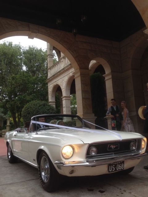 1968 GT Ford Mustang convertible