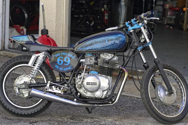Vintage 1981 Yamaha Xs400 xs650