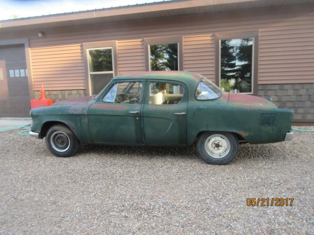 1954 Studebaker Champion, all original barn find--it runs and does drive