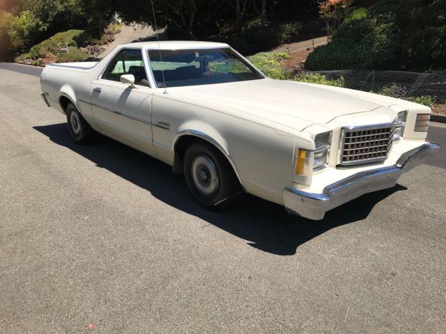 78' Ranchero  California Car! Runs and drives