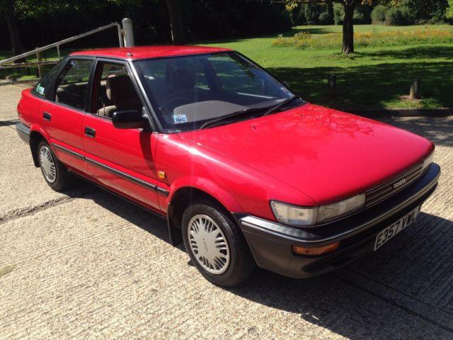 Toyota Corolla Liftback 1987 1.3GL - 64K - Fantastic Original Condition