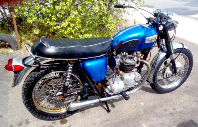 TRIUMPH T120R BONNEVILLE 1970