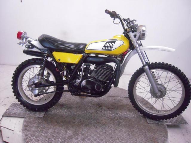 1975 Yamaha DT400B Unregistered US Import Barn Find Classic Restoration Project