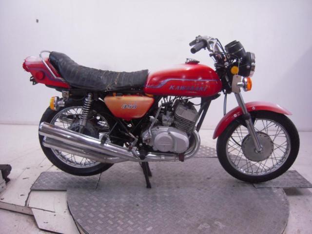 1972 Kawasaki S2 350 Mach II Unregistered US Import Barn Find Classic Restore