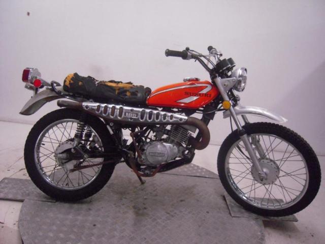 1975 Suzuki TS185M Unregistered US Import Barn Find Classic Restoration Project
