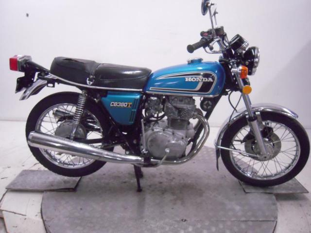 1975 Honda CB360T Unregistered US Import Barn Find Classic Restoration Project